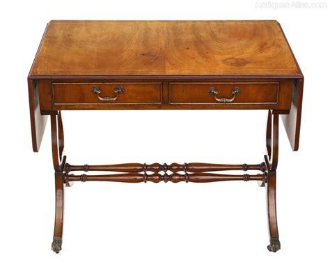 mahogany sofa table antique georgian mahogany sofa table pembroke antiques atlas