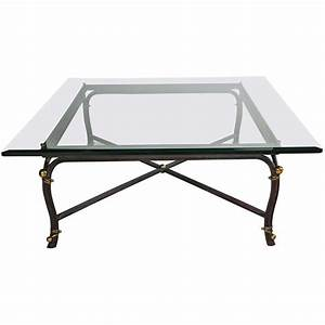 large bronze base coffee table with beveled glass top at With bronze coffee table glass top
