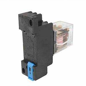2015 Hot Jqx 13f 220v Ac Coil Dpdt Power Relay 8 Pin Ptf08a Socket