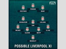 Liverpool Team News Injuries, Suspensions & Lineup vS