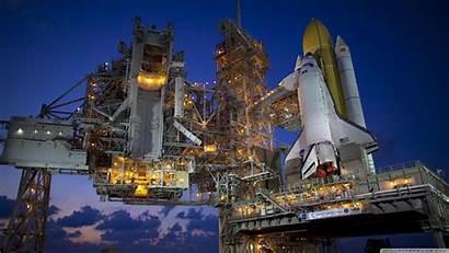 Space Shuttle Night 4k Desktop Wallpapers Ultra