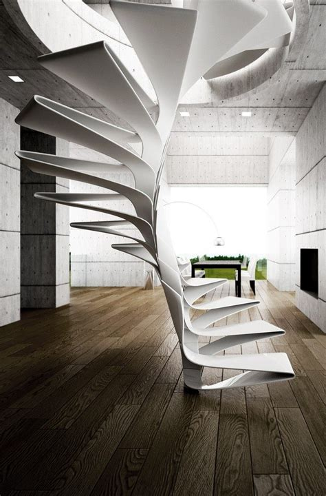unbelievably amazing futuristic staircase designs