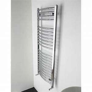 Radiateur Largeur 50 Cm : radiateur s che serviettes mixte cintr 160x50 cm chrom ~ Premium-room.com Idées de Décoration