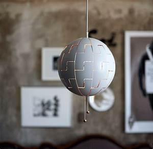 Lampe Suspension Ikea : suspension et lustre plafonnier et spots ikea ~ Teatrodelosmanantiales.com Idées de Décoration