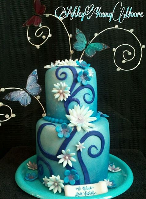17 Best Images About Butterfly Cakes On Pinterest Cakes