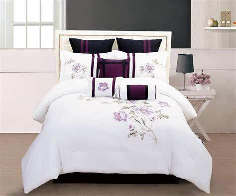 purple black  white bedding sets drama uplifted