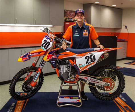 Racing Team by Broc Tickle To Bull Ktm For 2018 Updated Motocross