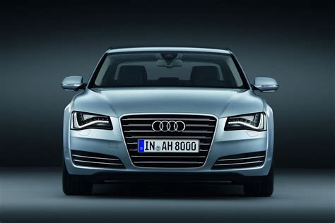 Audi Unveils A8 Hybrid W12 W12 Lwb Limited Edition At The
