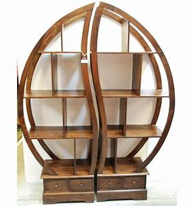 Round Bookshelf Simple Decoration On Home Gallery Design