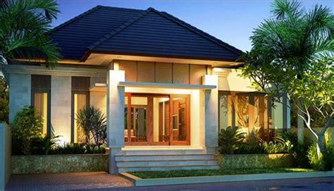 contoh rumah minimalis  lantai elegan   tuong cho