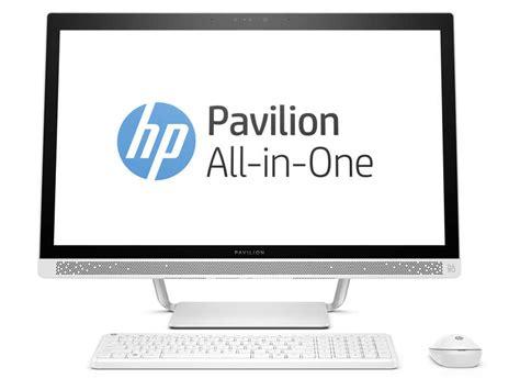 ordinateur de bureau hp pas cher pc bureau hp 27 a104nf ordinateur de bureau conforama