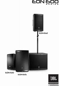 Jbl Eon 610 User Manual To The 962a4439 Ae7a 4569 93c4