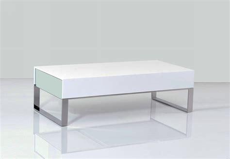 modern white table l terbium modern white glossy coffee table