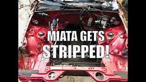 Miata Wire Harness  U0026 Dash Removal