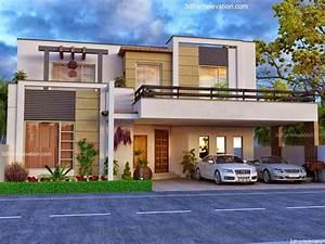3D Front Elevation com: Beautiful House Modern Design