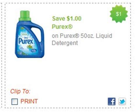 saving and for 1 00 purex coupon
