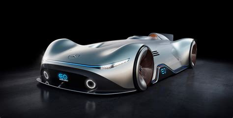 Mercedesbenz Eq Silver Arrow Electric Concept Is Inspired