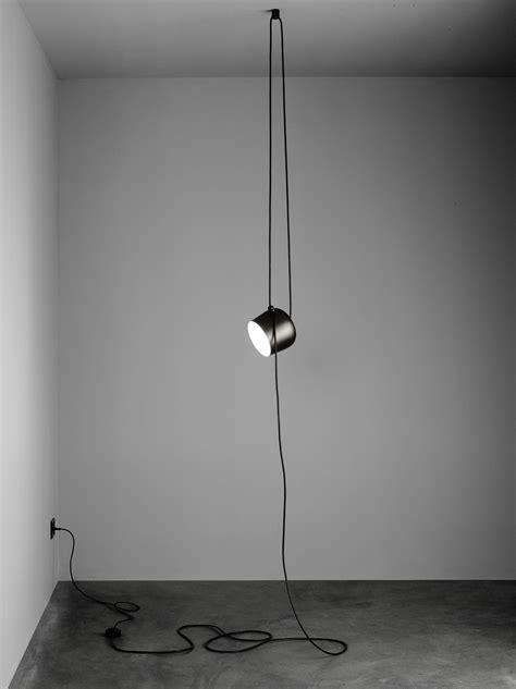 bureau bouroullec suspension aim small led ø 17 cm noir flos