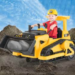 kid trax cat bulldozer kid trax cat bulldozer 12v ride on digger bob the builder