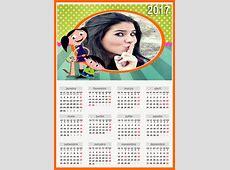 Montagem de fotos Calendário Calendario 2017 Moldura