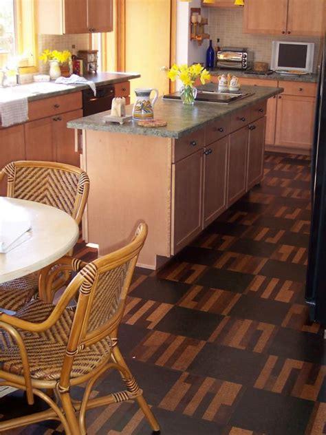 flooded kitchen floor cork kitchen floors hgtv 3782