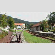 Endhaltepunkt Bodenmais Ein Sehr Schön Gebauter Bahnhof