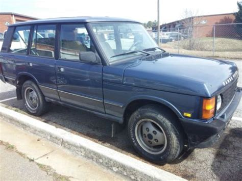 Purchase Used 1992 Land Rover Range Rover Classic County