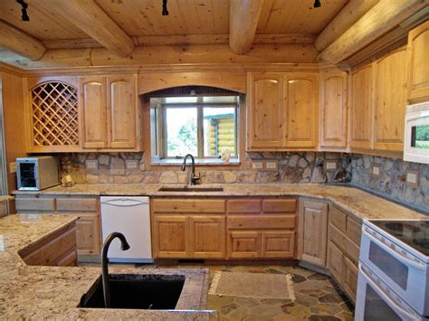 log cabin kitchen backsplash ideas pin by dunn on one day