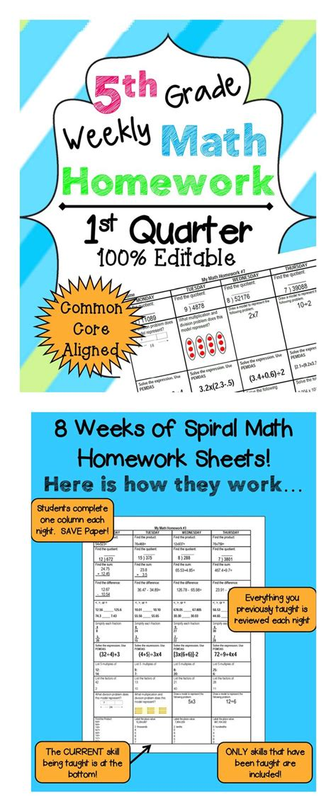 17 Best Images About Fifth Grade Math On Pinterest  Math Notebooks, 1st Grade Math And Student