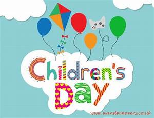 Happy Children's Day! - W&W Movers Ltd