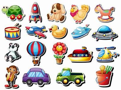 Toys Different Stickers Vector Sticker Rocket Turtle
