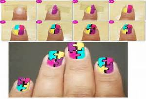 Pics photos cool easy nail designs step by