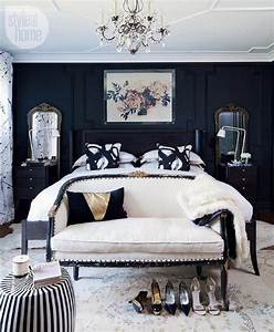 18 stunning black and white bedroom designs With black and white bedroom decor