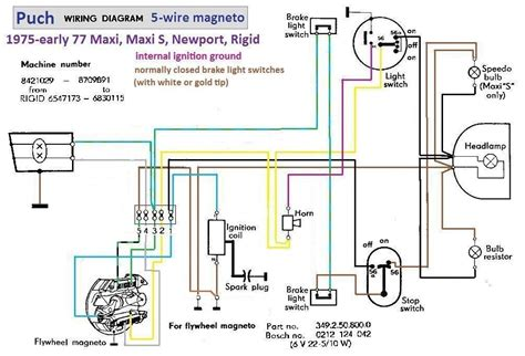 Moped Ignition Switch Wiring Diagram by Wiring 171 Myrons Mopeds