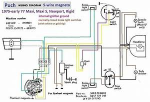 Wire Harness Diagram 5 Wire Moped