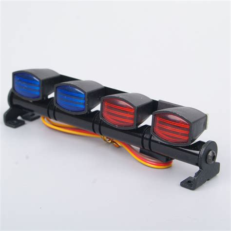 Rc Light Bar by Rc 1 10 1 8 Car Mult Function Led Light Bar Ax 505rb