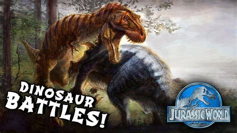 T-rex Vs Triceratops! (jurassic World Mod)