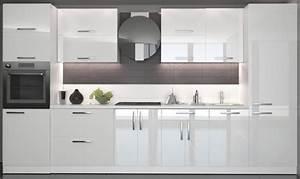 Weiße Hochglanz Küche Reinigen : weisse kuche in hochglanz blickfang ~ Markanthonyermac.com Haus und Dekorationen