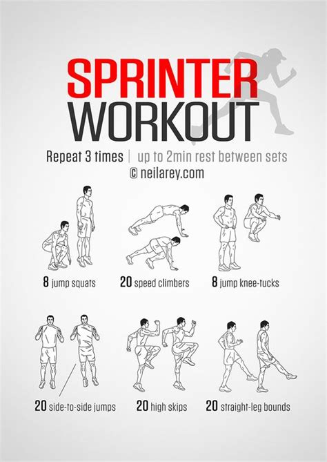Improve Your Running Speed With The Sprinter Workout The