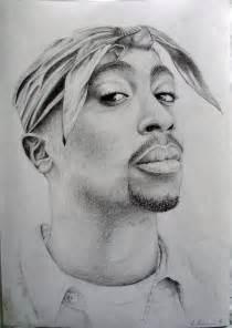 Tupac Pencil Drawings