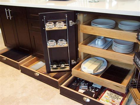 Kitchen Pull Out Cabinets: Pictures, Options, Tips & Ideas