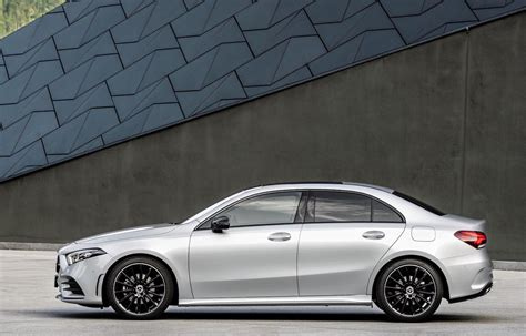 2019 mercedes benz a class sedan revealed performancedrive