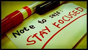 Tips - 6 Steps To Stay Focused At Work
