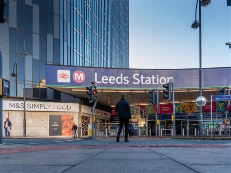 Men stopped for smoking cannabis outside Leeds Station ...