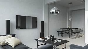 Wohnzimmer Wandgestaltung Farbe : beton farbe f r moderne wandgestaltung 5 wohnideen ~ Markanthonyermac.com Haus und Dekorationen
