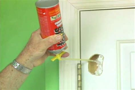 How To Fix A Hole In A Door Made Of Wood Or Metal