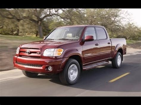 2005 Tundra Reviews by 2005 Toyota Tundra Start Up And Review 4 7 L V8