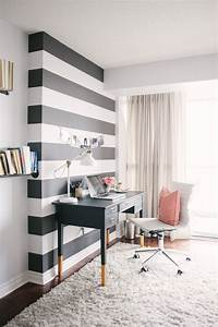 small black and white home office inspirations With home office interior design inspiration