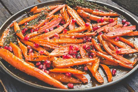 comment cuisiner du tofu carottes rôties à l 39 érable et graines de grenade 1 2 3