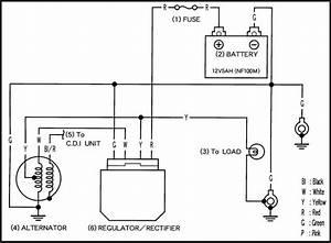 Wiring Diagram Pengisian Motor